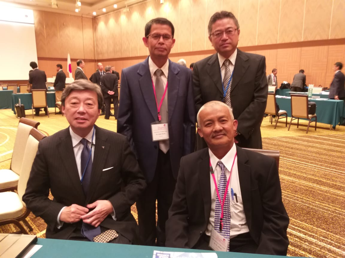 UTU Hadiri 'The 5th Indonesia-Japan Rector Conference' di Hiroshima- Jepang