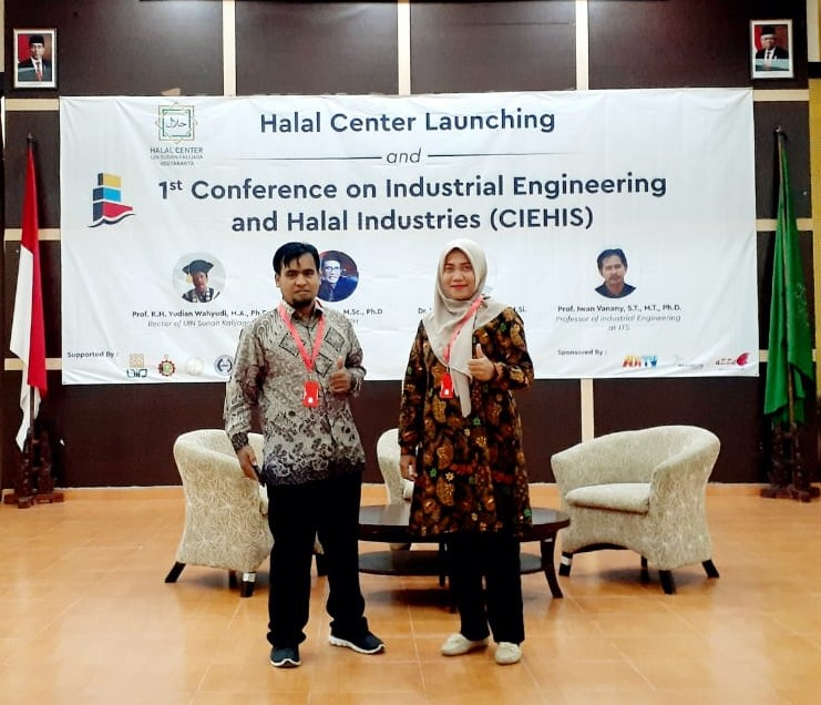 Dosen Fakultas Teknik Mengikuti Conference On Industrial Engineering and Halal Industrial (CIEHIS)