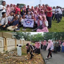 Partisipasi Mahasiswa GenBI dalam World Cleanup Day